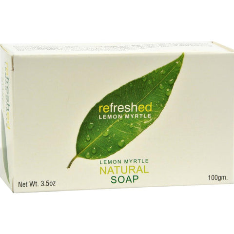 Tea Tree Therapy - Lemon Myrtle Natural Soap ( 4 - 3.5 OZ)-BHA