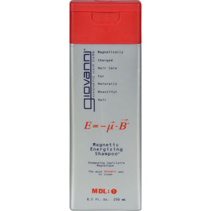 Giovanni Hair Care Products - Magnetic Energizing Shampoo ( 2 - 8.5 FZ)-BHA