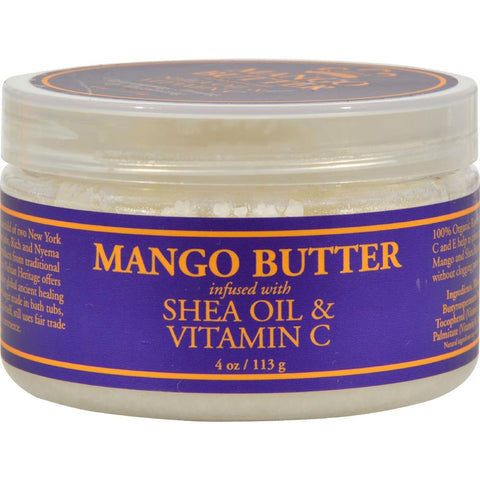 Nubian Heritage - Mango Butter Infused With Shea Oil And Vitamin C ( 1 - 4 OZ)-BHA