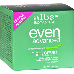 Natural Even Advanced Sea Plus Renewal Night Cream ( 1 - 2 OZ)-BHA