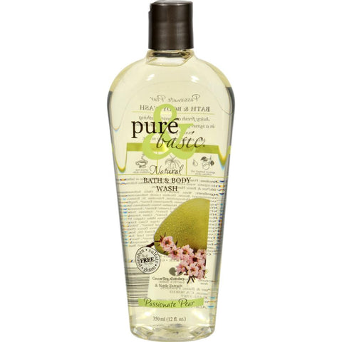 Pure and Basic - Passionate Pear Body Wash ( 2 - 12 FZ)-BHA