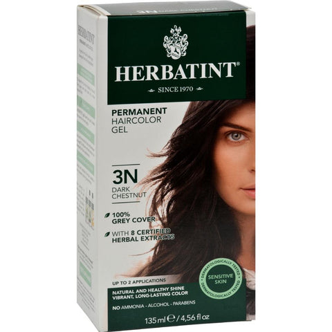 Herbatint - Permanent Herbal Haircolour Gel 3N - Dark Chestnut ( 1 - CT)-BHA