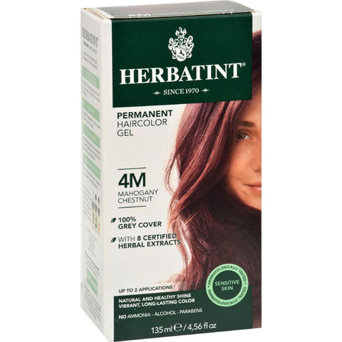 Herbatint - Permanent Herbal Haircolour Gel 4M Mahogany Chestnut ( 1 - CT)-BHA