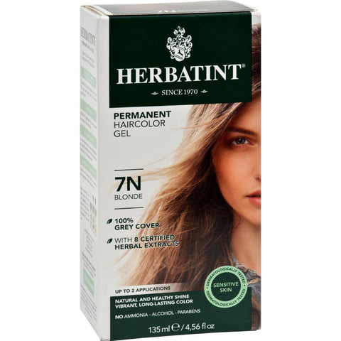Herbatint - Permanent Herbal Haircolour Gel 7N - Blonde ( 1 - CT)-BHA