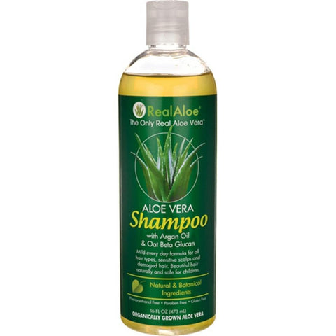 Real Aloe - Shampoo With Aloe Vera ( 2 - 16 FZ)-BHA