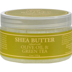 Nubian Heritage - Shea Butter Infused With Olive Oil And Green Tea Extract ( 2 - 4 OZ)-BHA