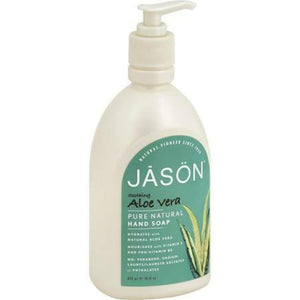 Jason Natural Products - Soothing Aloe Vera Pure Natural Hand Soap ( 2 - 16 FZ)-BHA