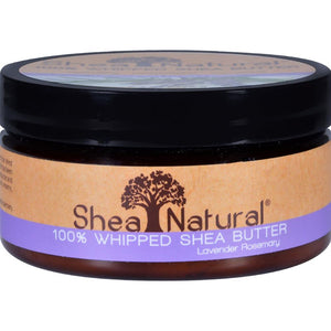 Shea Natural - Whipped Shea Butter Lavender Rosemary ( 2 - 6.3 OZ)-BHA