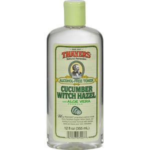 Thayers - Witch Hazel With Aloe Vera Cucumber ( 2 - 12 FZ)-BHA