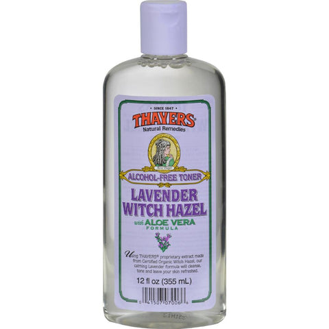 Thayers - Witch Hazel With Aloe Vera Lavender ( 2 - 12 FZ)-BHA