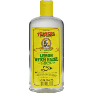 Thayers - Witch Hazel With Aloe Vera Lemon ( 2 - 12 FZ)-BHA