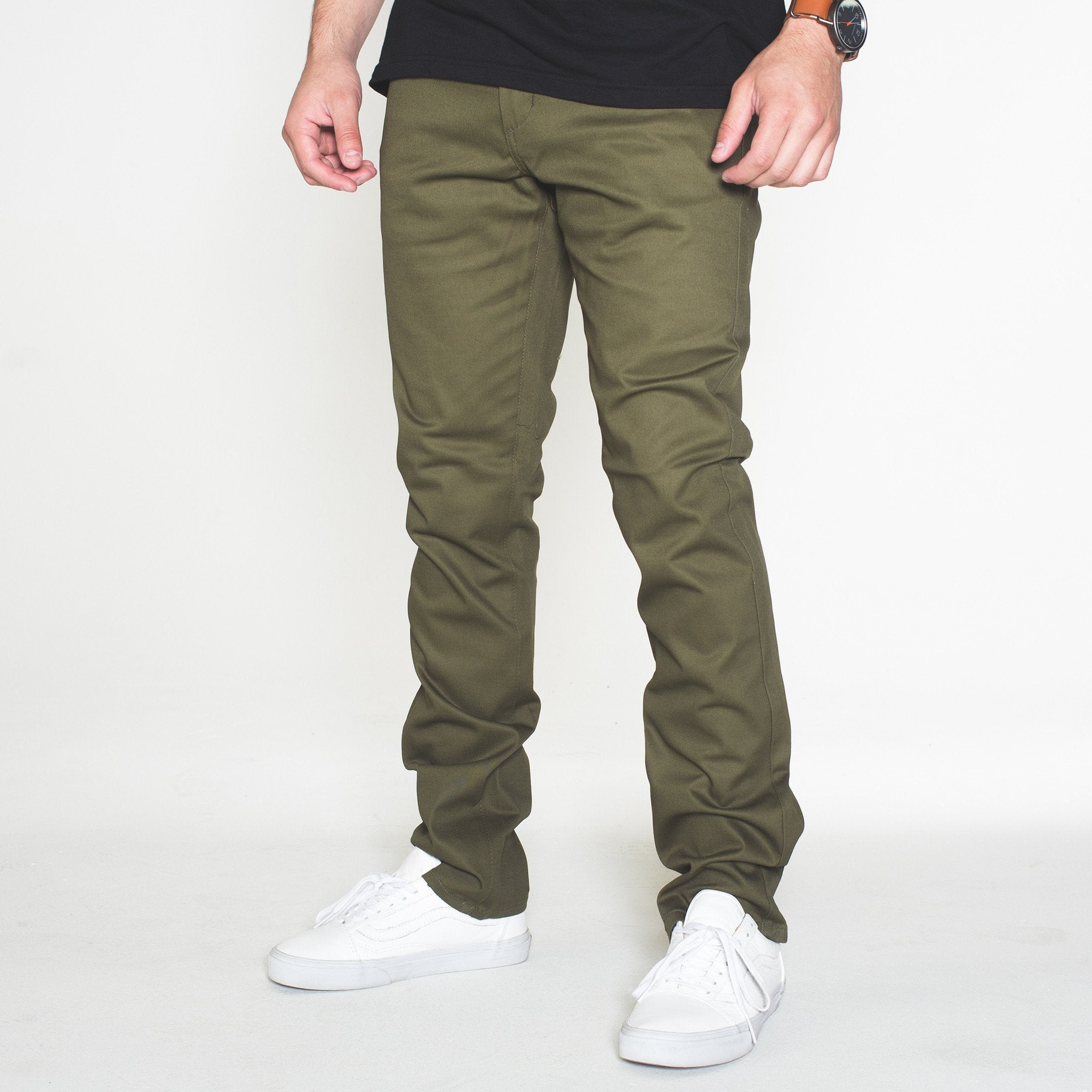 The Classic Chino -Olive