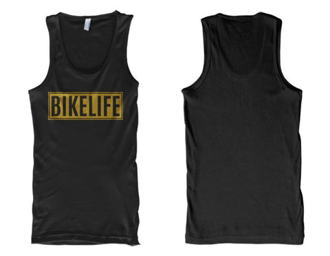 TANK - BIKELIFE (GOLD METALLIC INK)