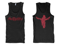 TANK - STREETFIGHTERZ CURSIVE (RED PRINT)