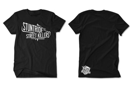 T-SHIRT - STREET KILLERS (WHITE PRINT)