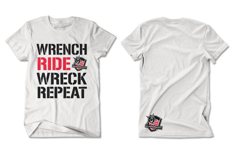 T-SHIRT-WRENCH RIDE WRECK REPEAT