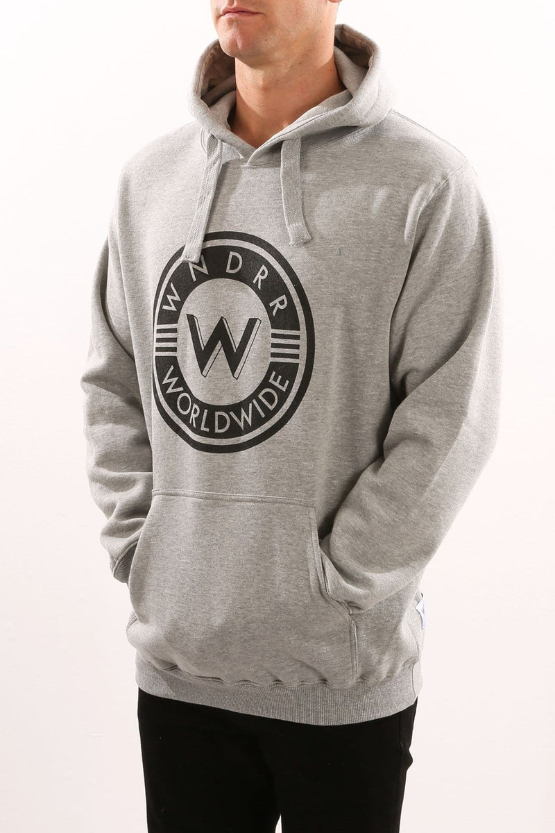 University Hood Sweat Grey Marle WNDRR - Jean Jail