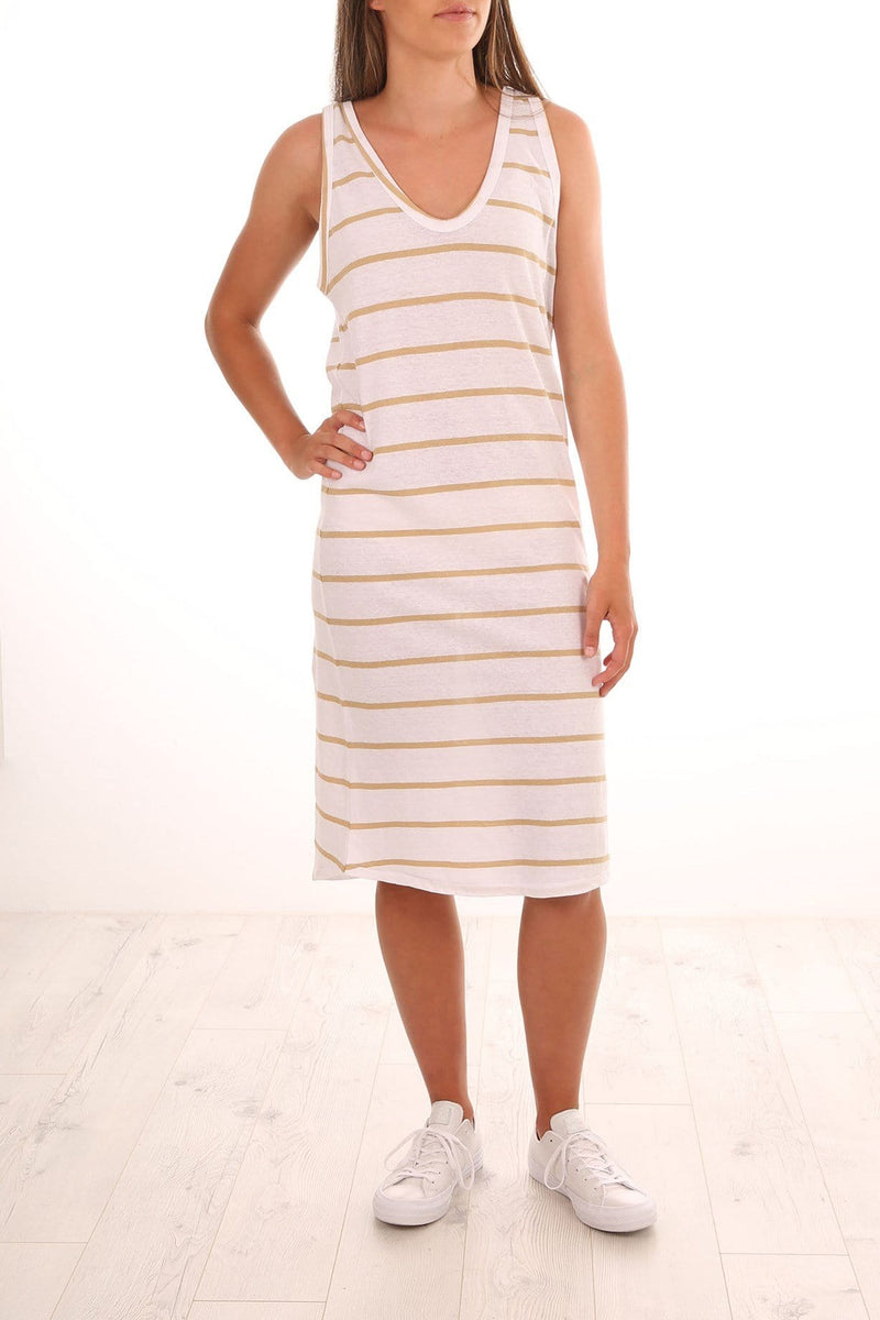 Curve Dress Sand Stripe Assembly Label - Jean Jail