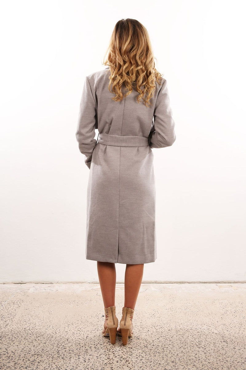 Paint Palette Coat Grey Marle The Fifth Label - Jean Jail