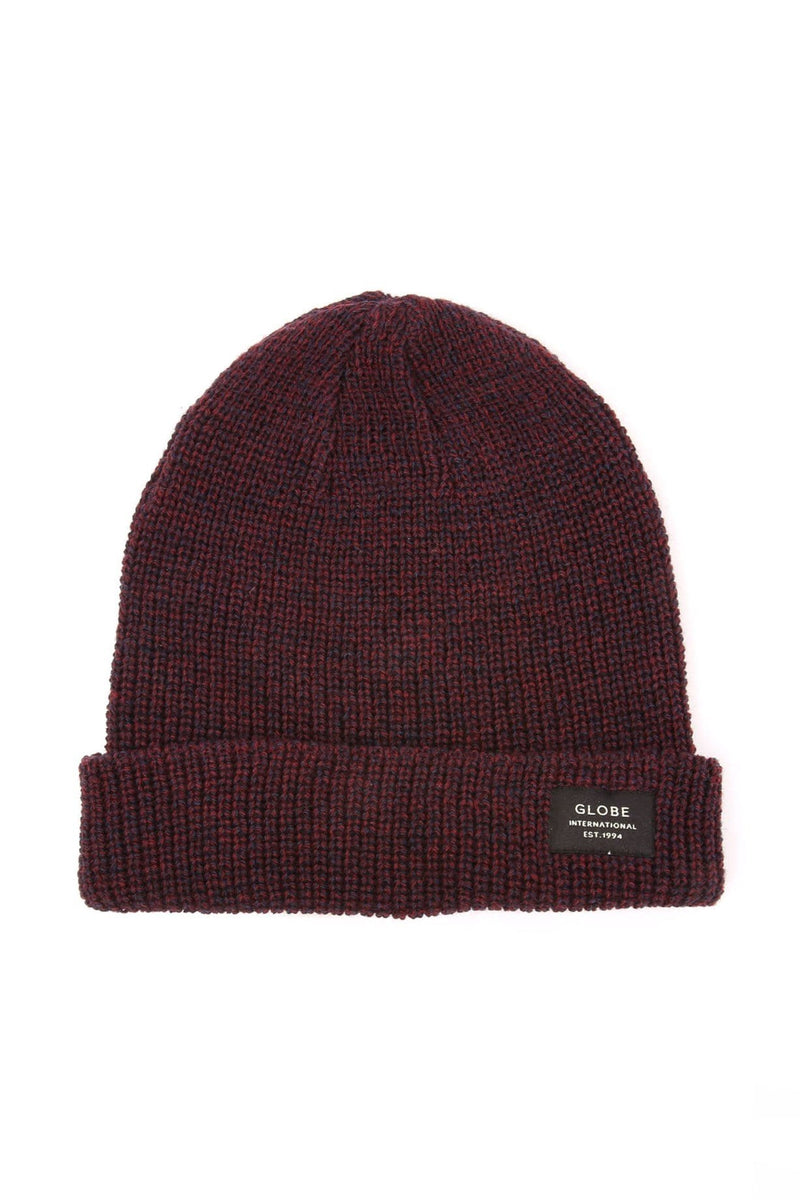 Halladay Beanie Port Navy Marle Globe - Jean Jail