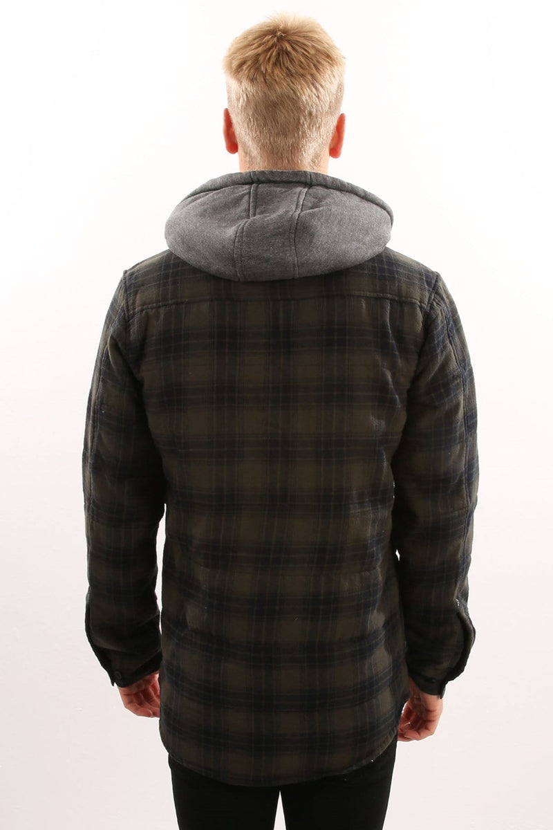 Alford III Jacket Hunter Green Globe - Jean Jail