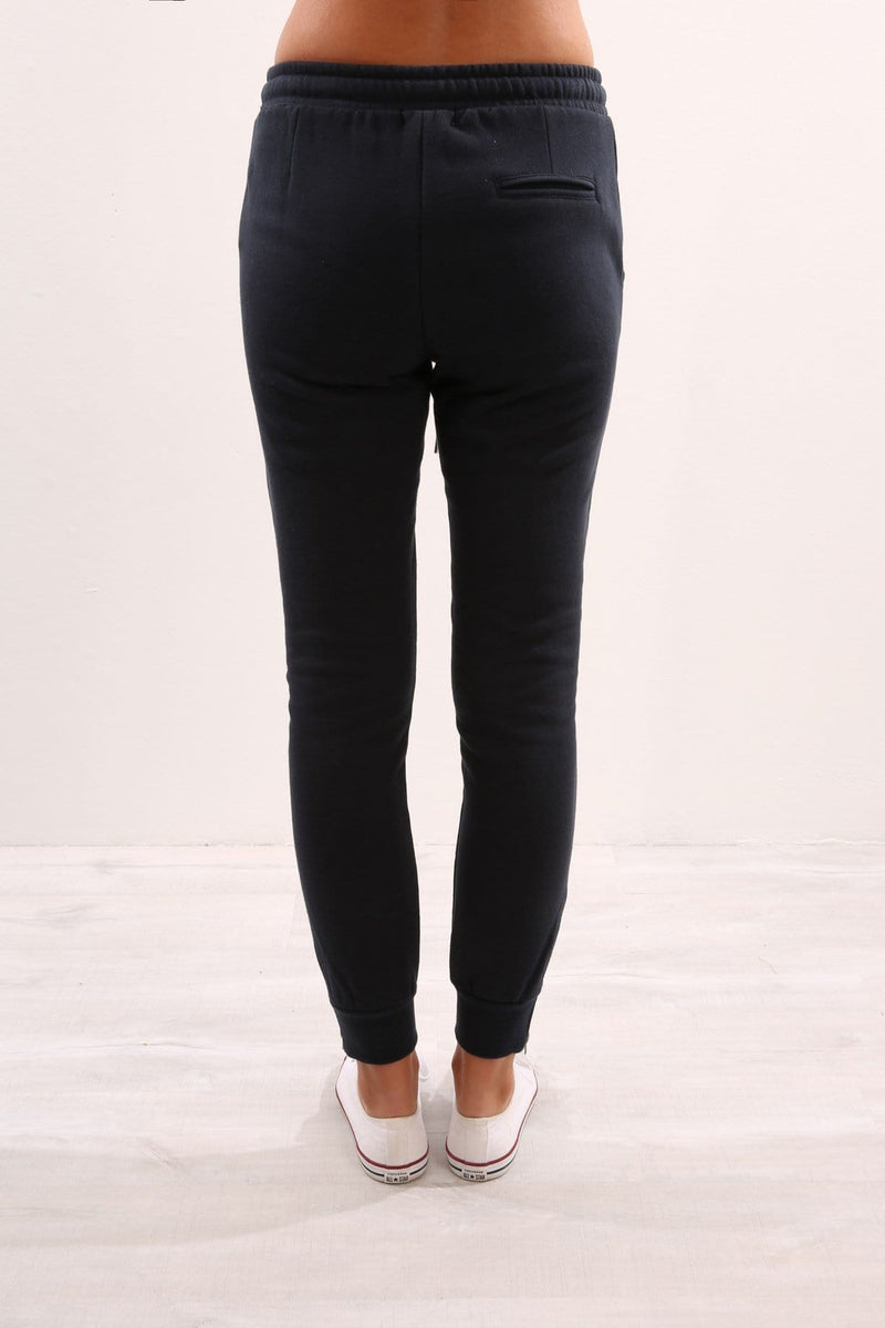 Huff n Puff Trackpant Navy Elwood - Jean Jail