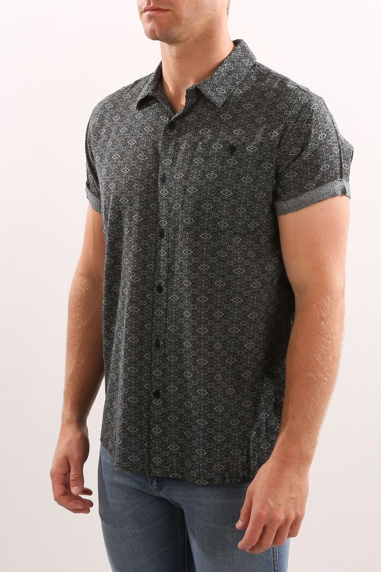 Beach Boy Shirt Grey