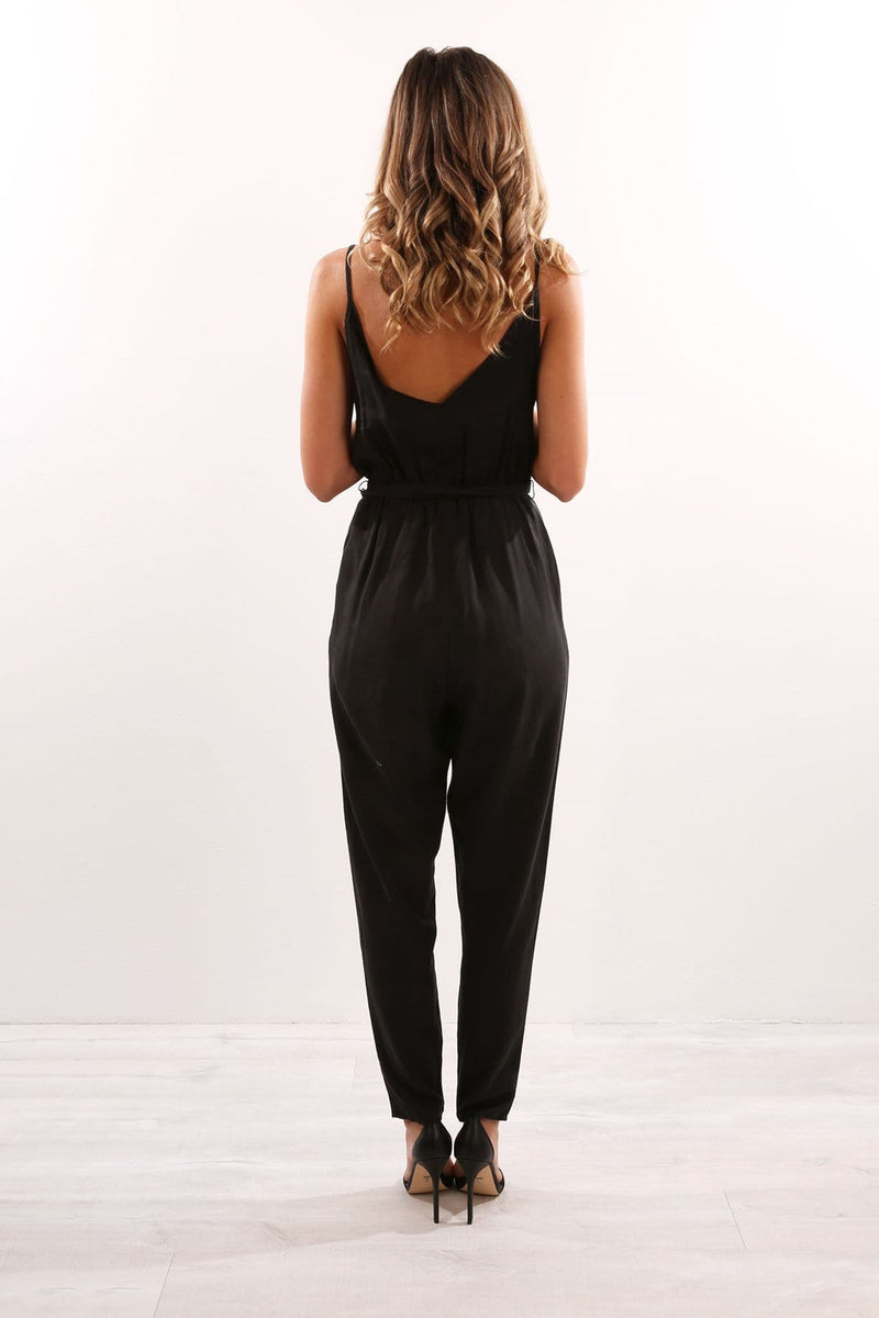 Harmony Jumpsuit Black The Fifth Label - Jean Jail