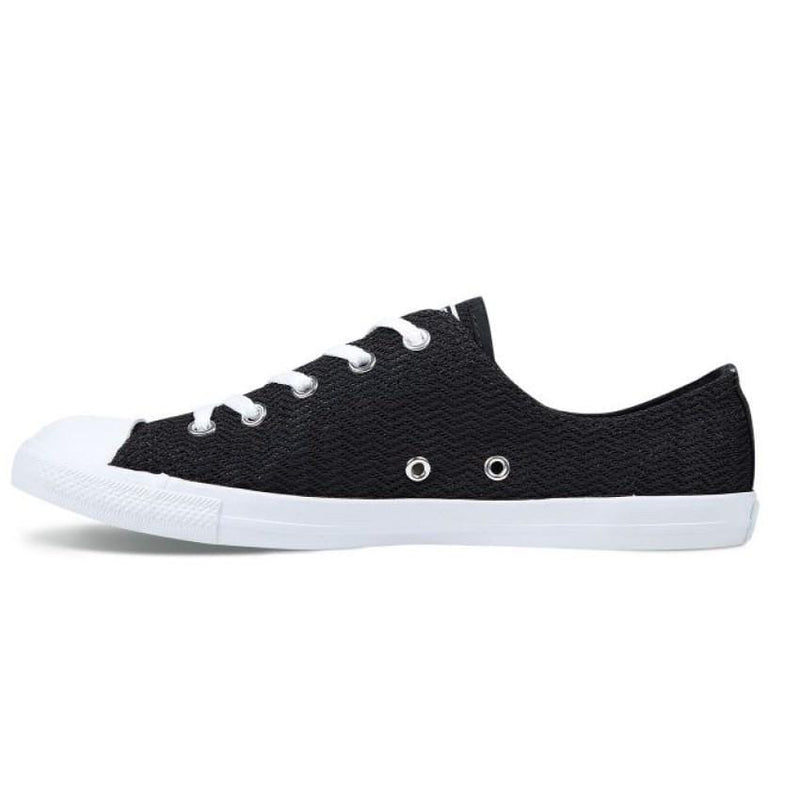 Chuck Taylor All Star Dainty Summer Textile Low Top Black