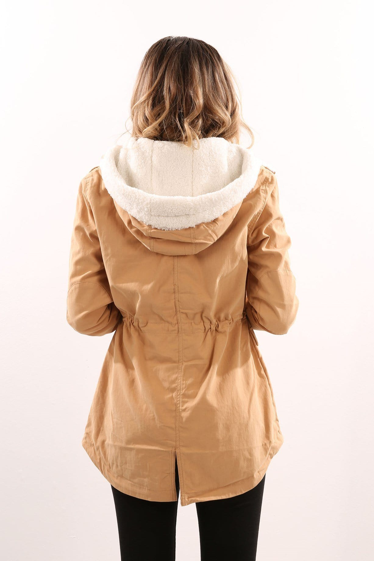 Edwards Parka Tan
