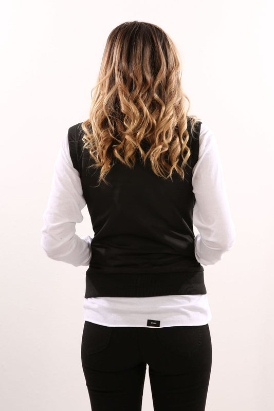 Moon Bomber Vest Black