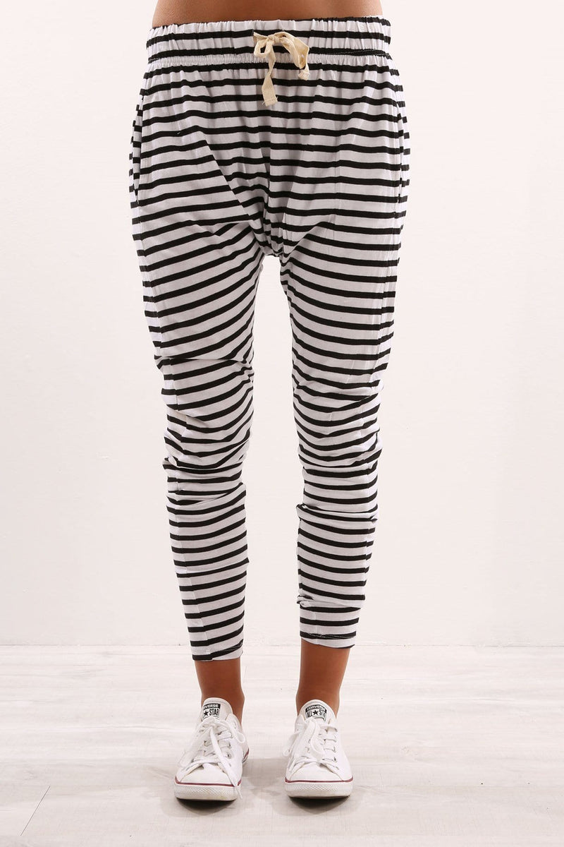 Fluid Pant Stripe Silent Theory - Jean Jail