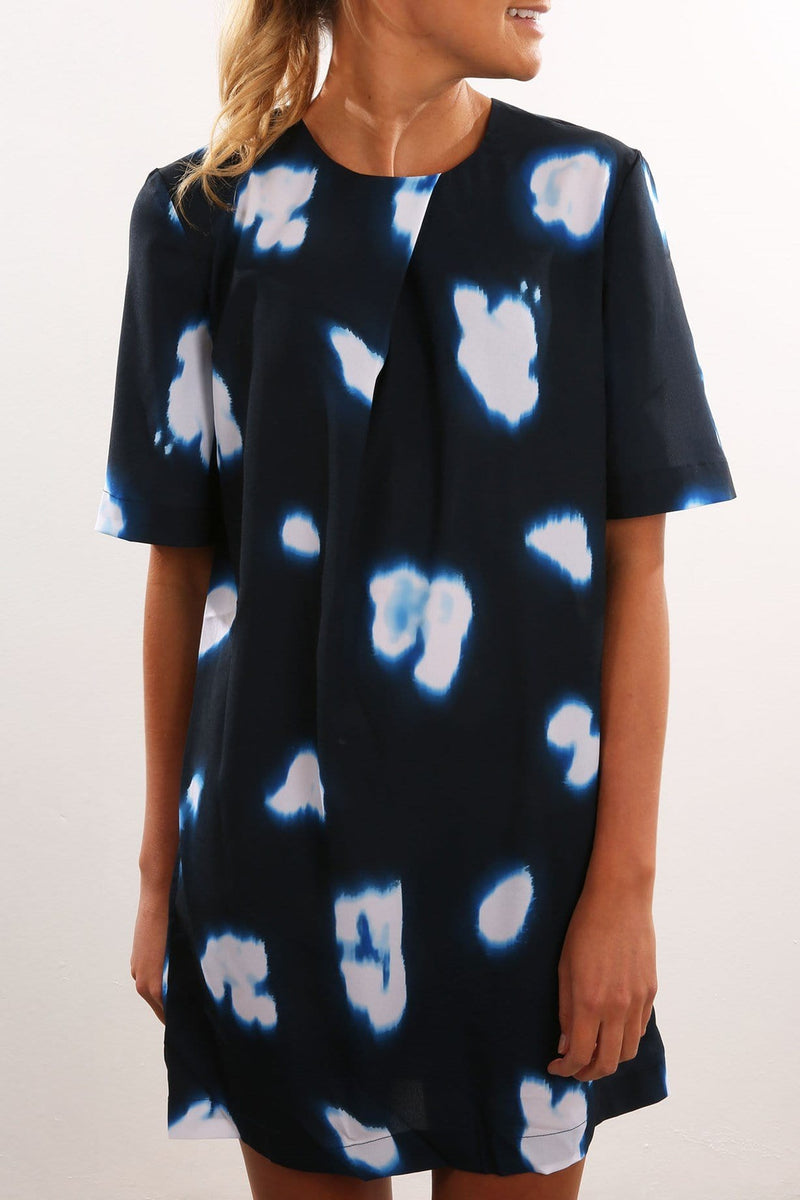 Midnight Mystery Dress Illusion Print The Fifth Label - Jean Jail