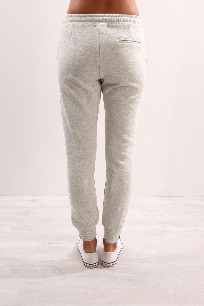 Huff n Puff Trackpant Light Grey Marle Elwood - Jean Jail