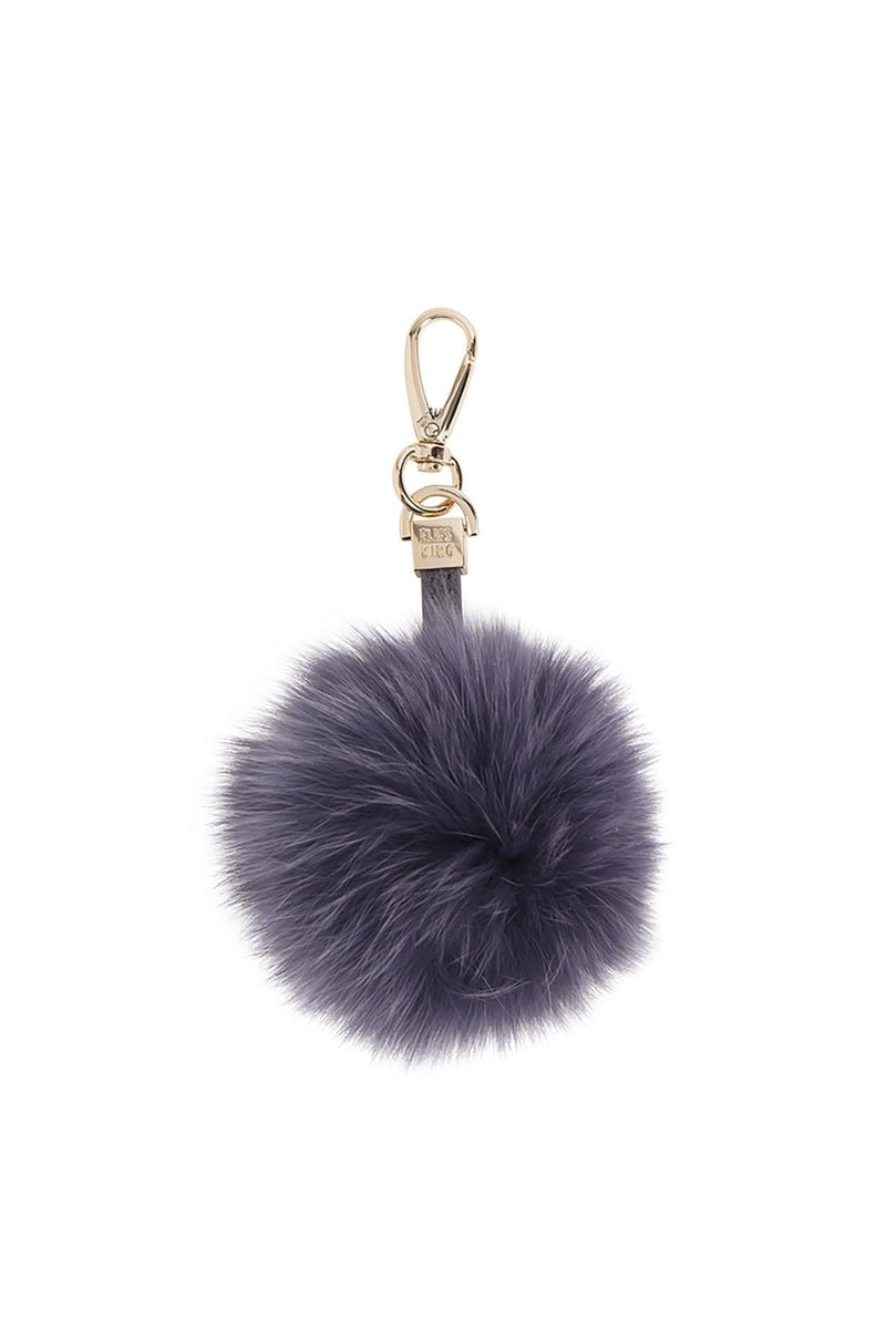 Fur Pom Pom Charcoal Elms & King - Jean Jail