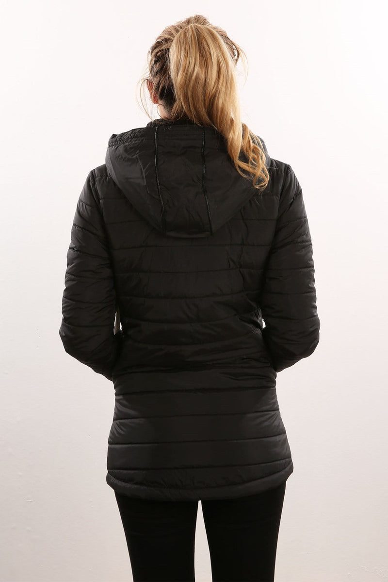 Drifter Quilted Jacket Black Volcom - Jean Jail