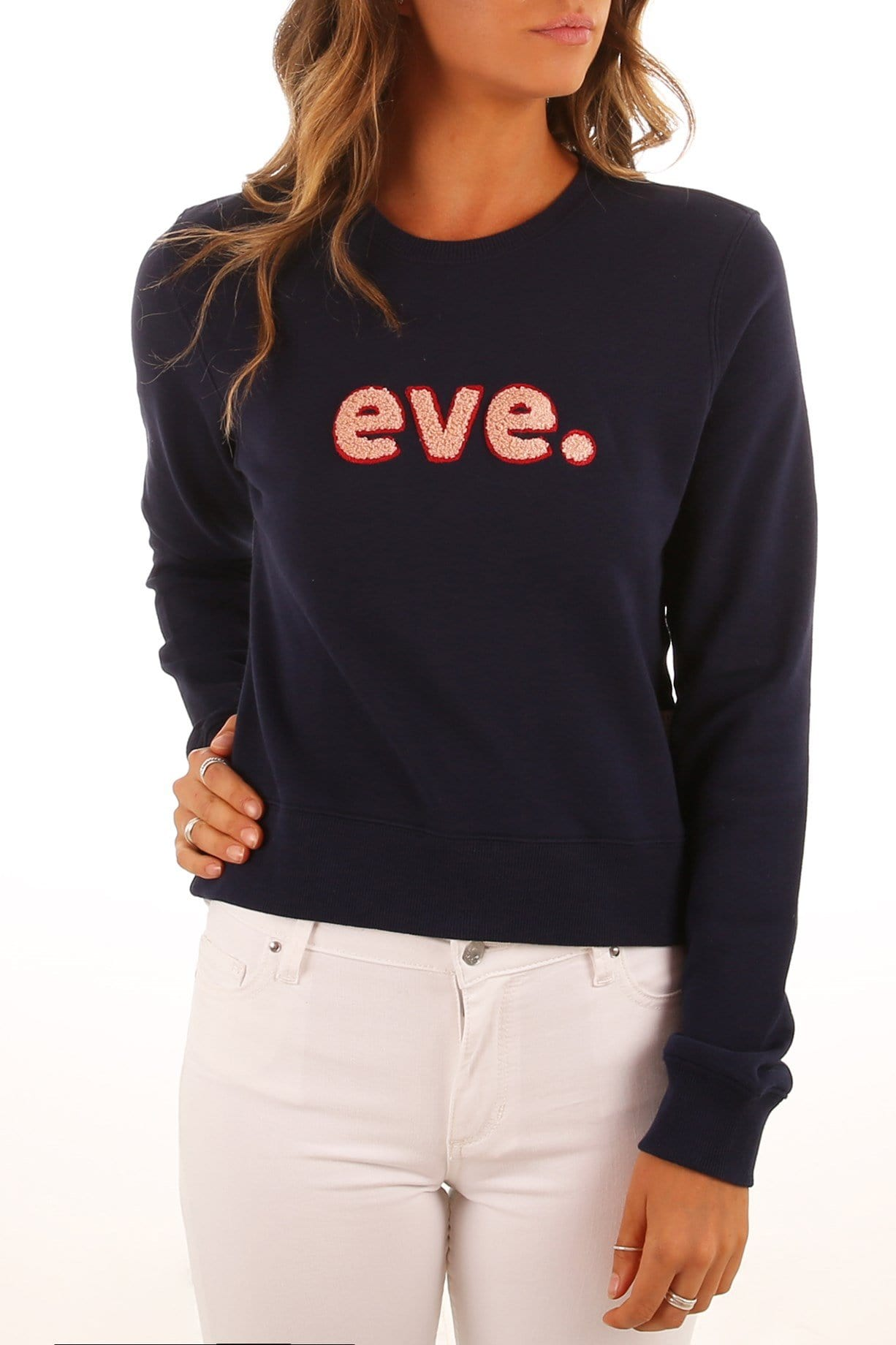 Robyn Knit Fleece Navy