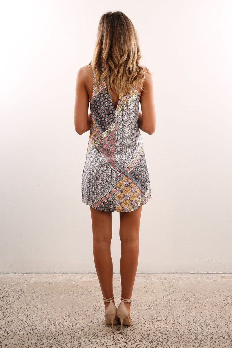 Morgan Dress Print All About Eve - Jean Jail