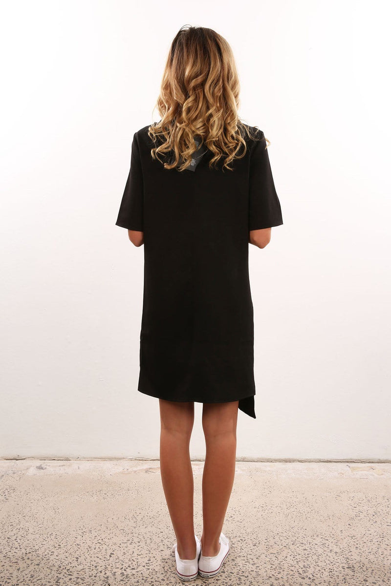 The Walky Talky Dress Black The Fifth Label - Jean Jail