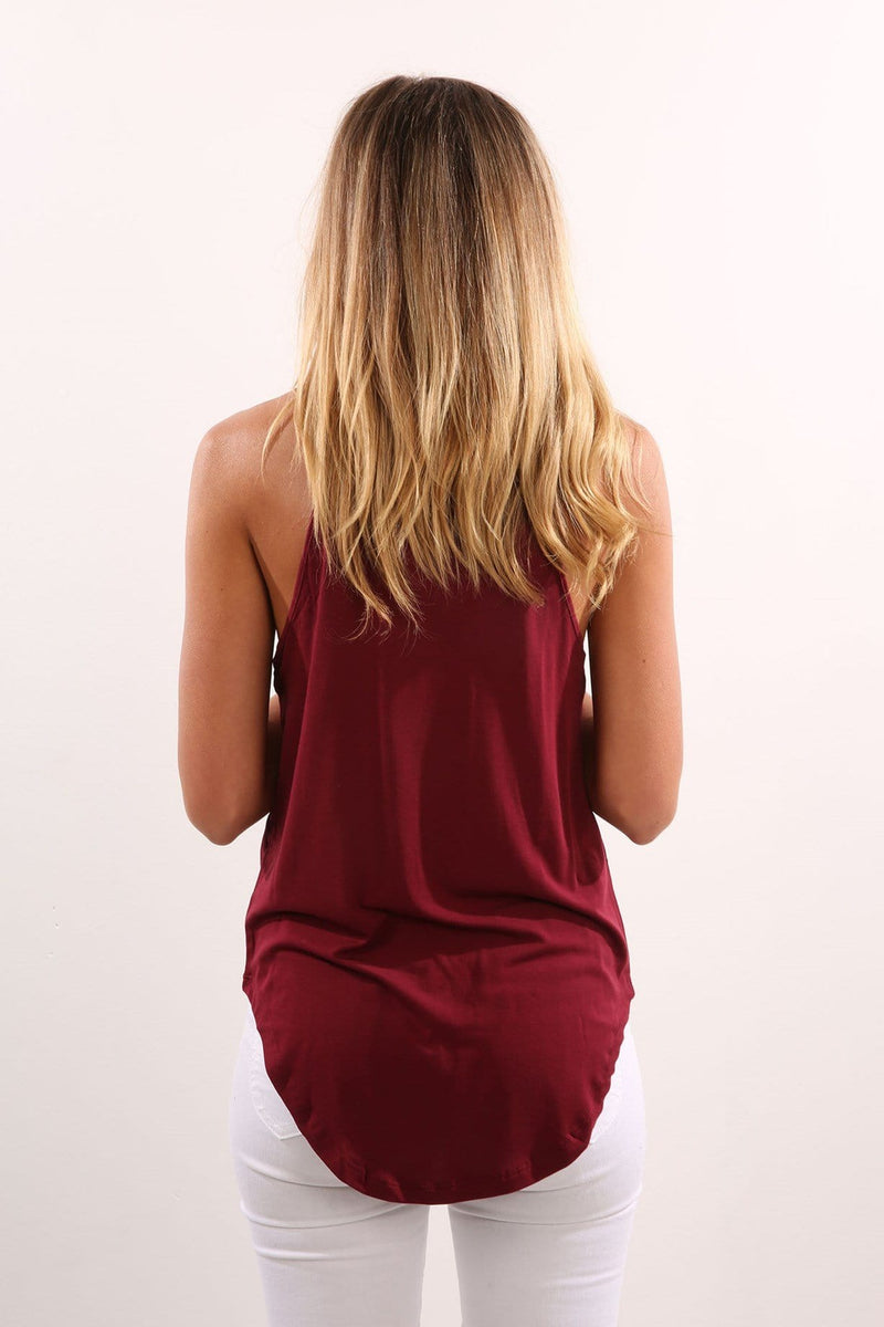 Sands Cami Burgundy