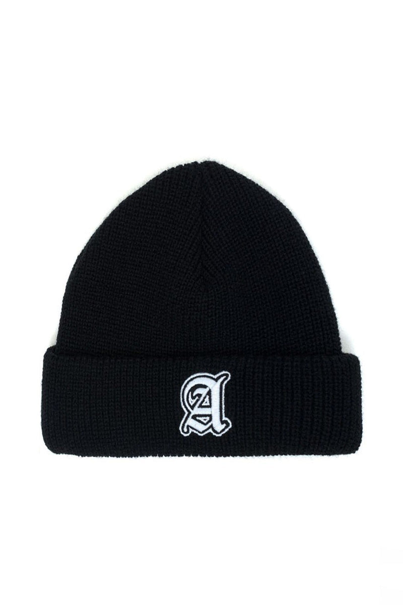 Cheek Beanie Black & White Afends - Jean Jail