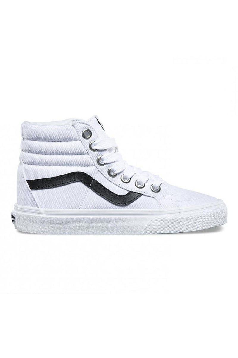 Oversized Lace SK8 Hi Reissue True White