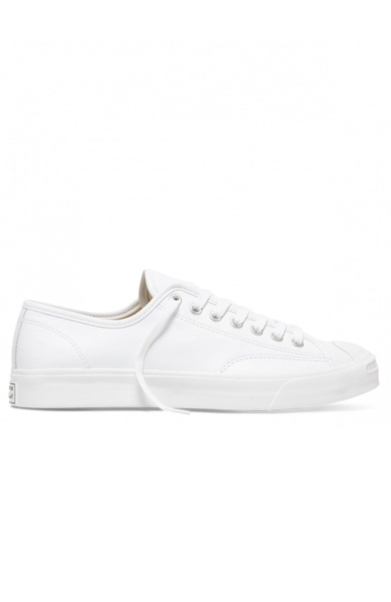 Jack Purcell Foundational Leather Low Top White Mono
