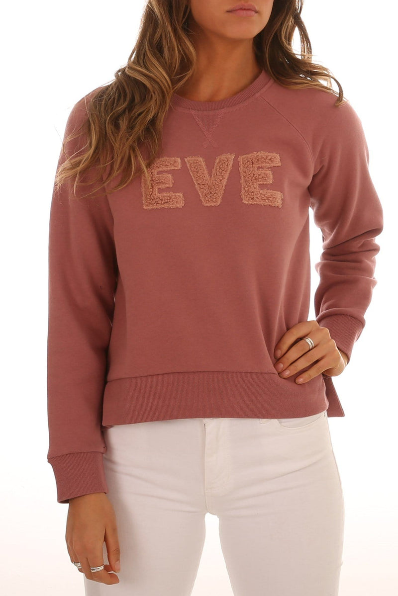 Alannah Fleece Crew Neck Dusty Rose All About Eve - Jean Jail