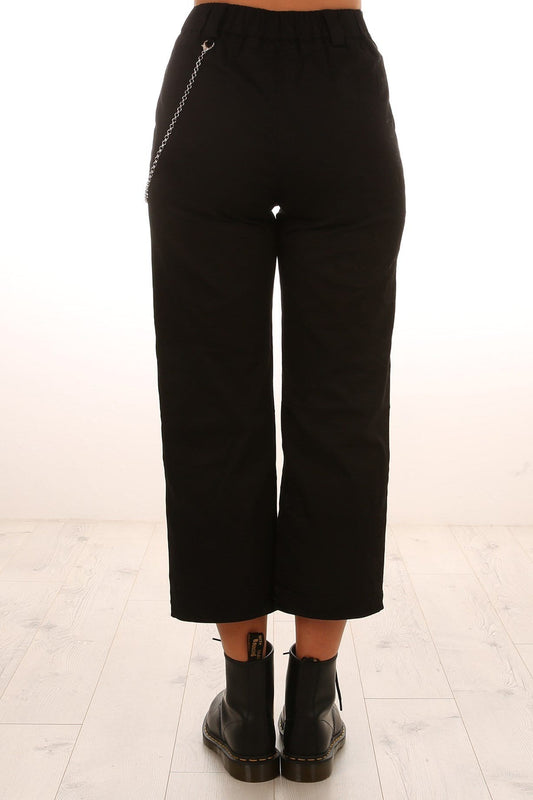 Avril Chain Pant Black