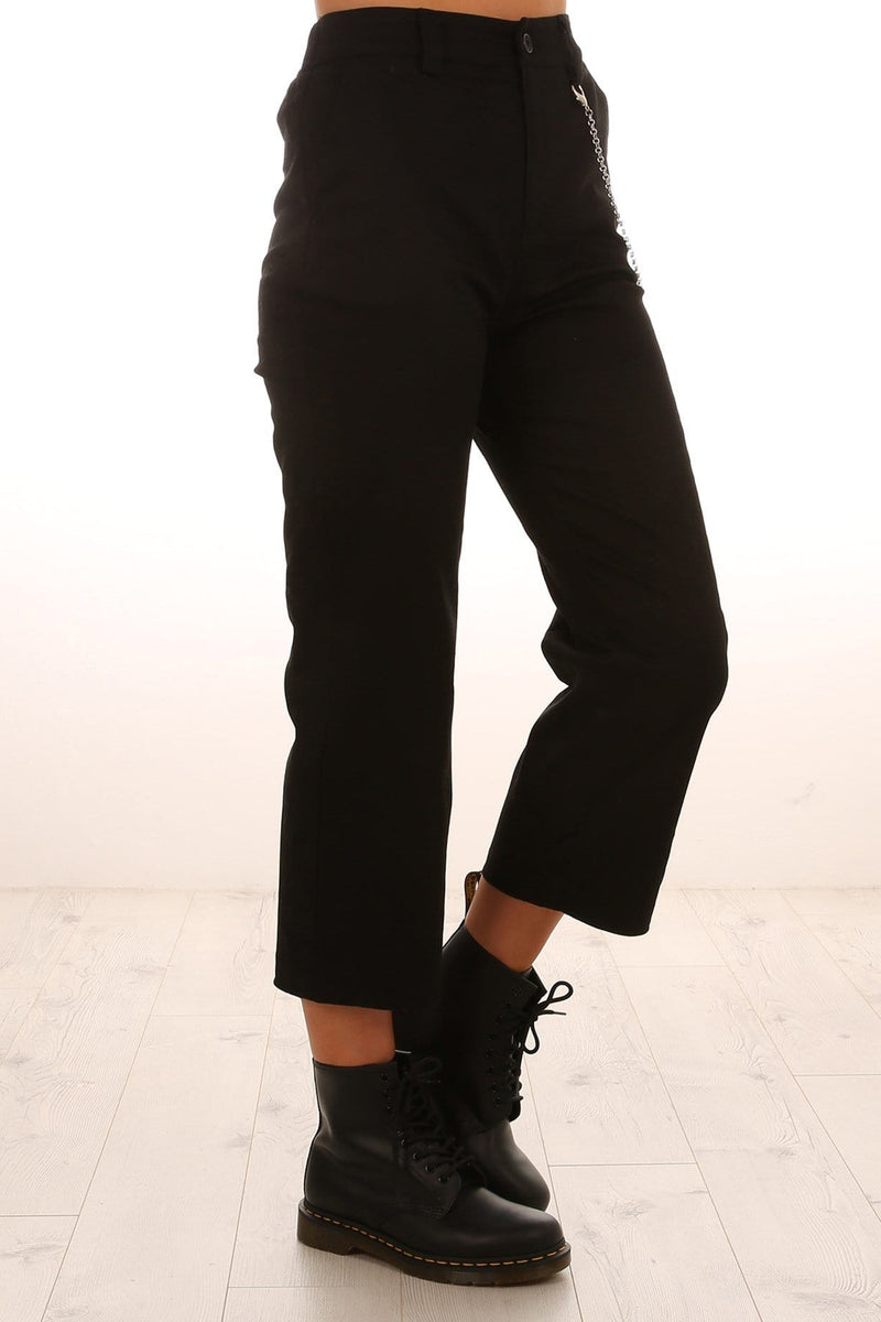 Avril Chain Pant Black Jean Jail - Jean Jail