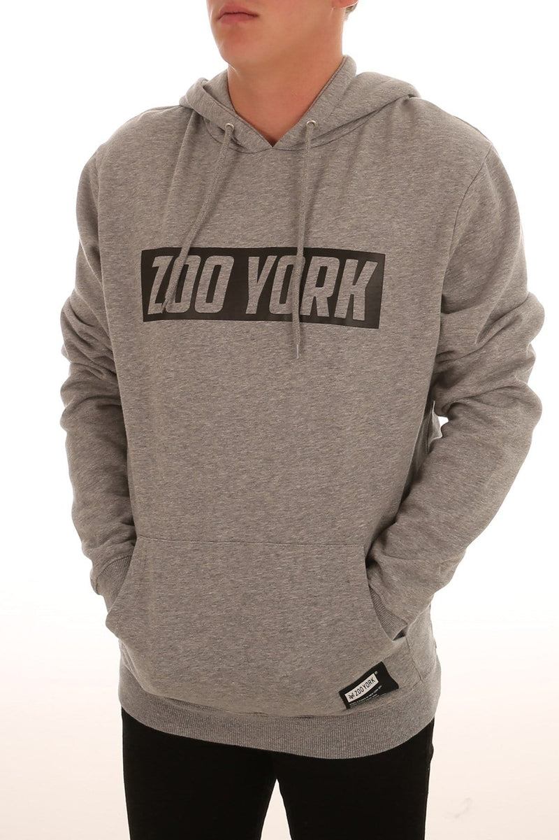 Border Pop Hood Grey Heather Zoo York - Jean Jail