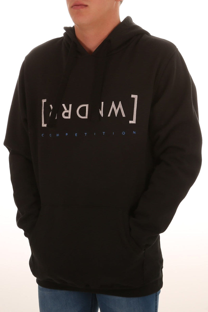 Caged Hood Sweat Black