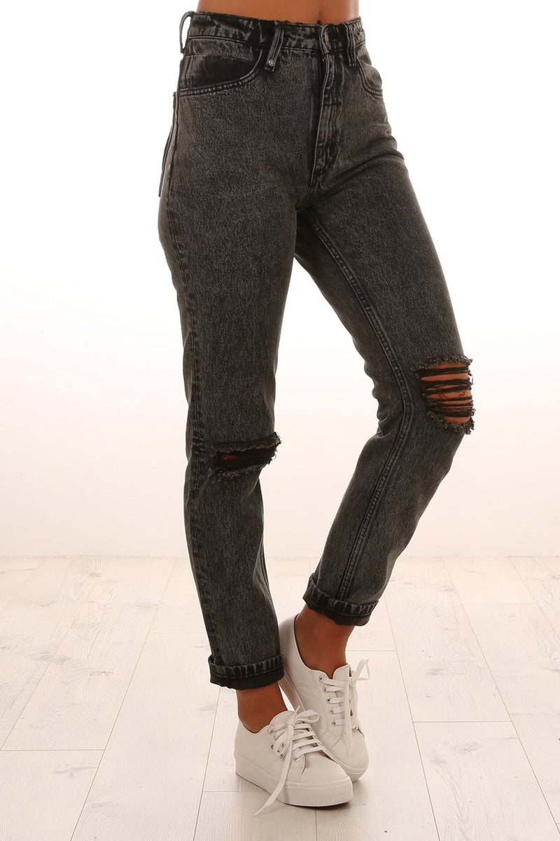 Destroy Thelma Jeans Stoned Black Thrills - Jean Jail