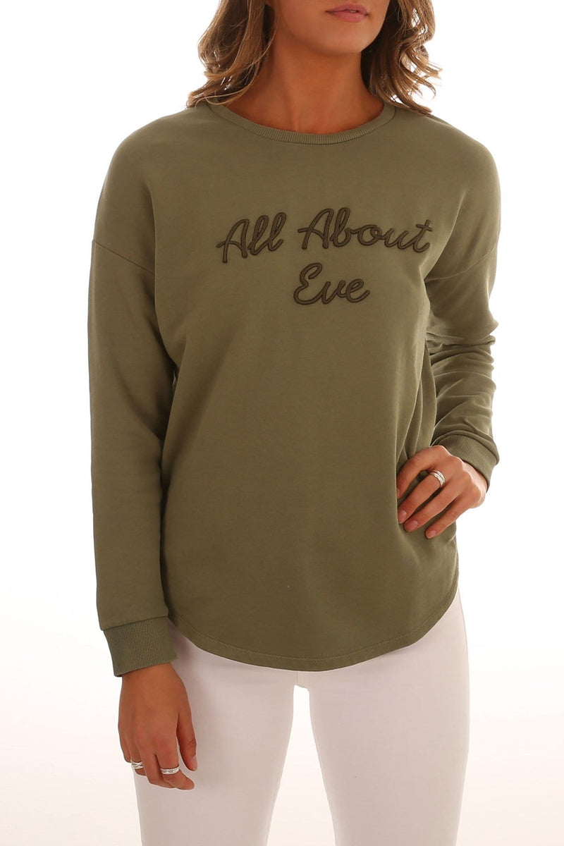 Dion Jumper Khaki All About Eve - Jean Jail